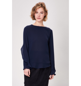 AngelEye Karsi Wide Sleeve Top Navy