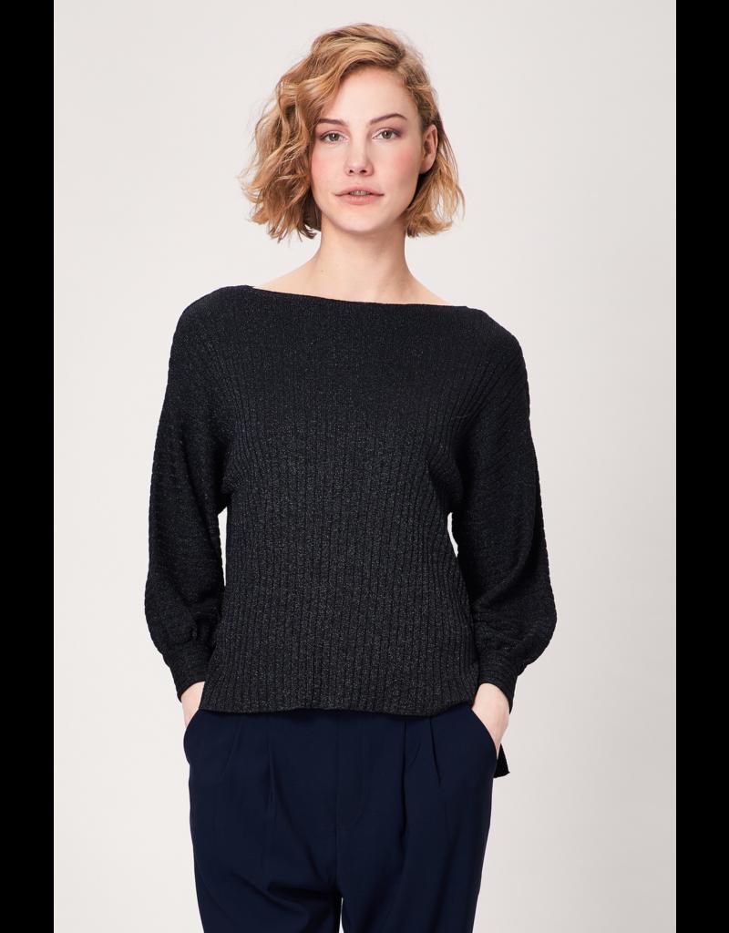 AngelEye Leanne Sweater Glitter Black