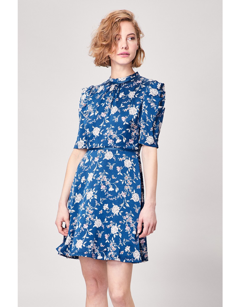 AngelEye Debbie Aline Dress Blue