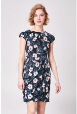 AngelEye Bailey Pleated Dress Black