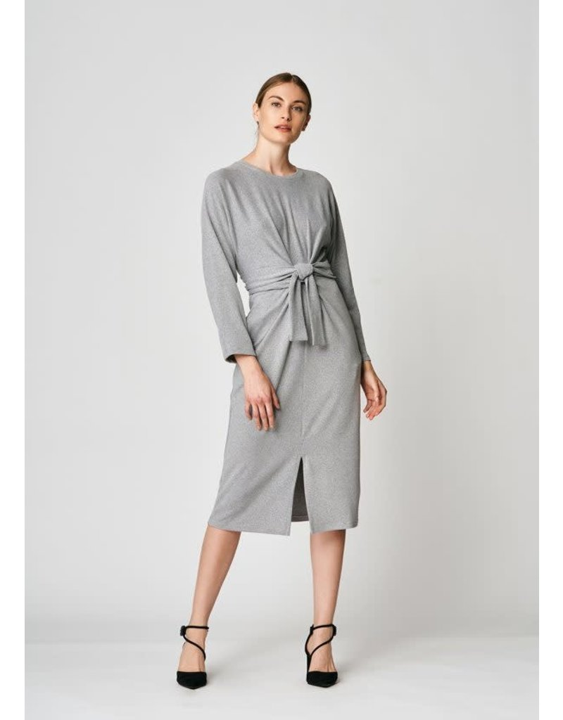 Uchuu Belt Dress Grey