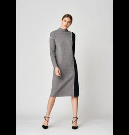 Uchuu Midi Shift Dress Grey