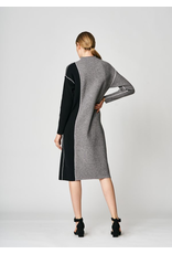 Uchuu Midi Shift Dress Grey