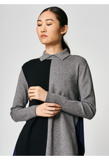 Uchuu Side Slit Sweater Grey/Black/Navy