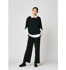 Uchuu Cocoon Sweater Black