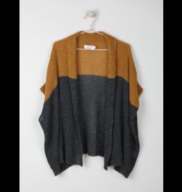 Indi & Cold Kimono Sweater Carbon