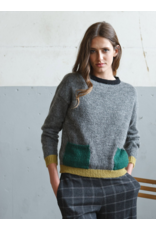 Indi & Cold Sweater with Pockets Grey