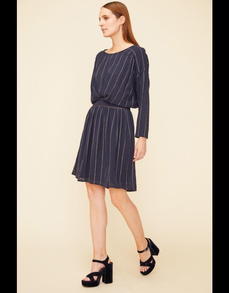 Louizon Seraphine Dress Navy