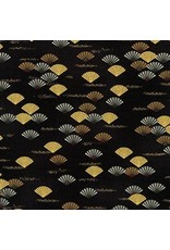 Birds of North America Gallinule Dress Gold Fans