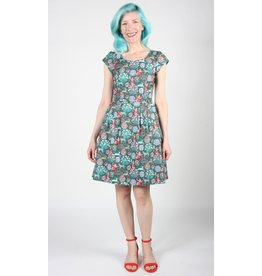 Birds of North America Gallinule Dress Leopard Tulip People