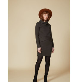 Cokluch Red Sparrow Turtleneck Top Slate
