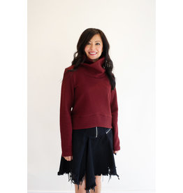 Cokluch Red Sparrow Turtleneck Wine
