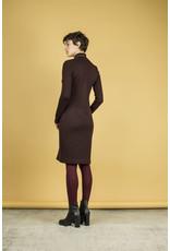 Bodybag Baxter Turtleneck Tunic Dress Wine