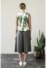 Bodybag Tayrona Mock Neck Top Tropical Leaves