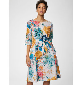 Thought Giardino Midi Belt Dress Floral Print