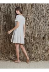 Indi & Cold Dropped Waist Dress Linen