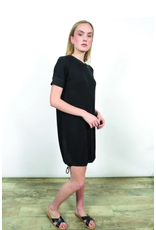 Shannon Passero Malinda Drawstring Bottom Dress Black