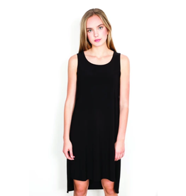 Shannon Passero Mason Hilow Tank Dress Black