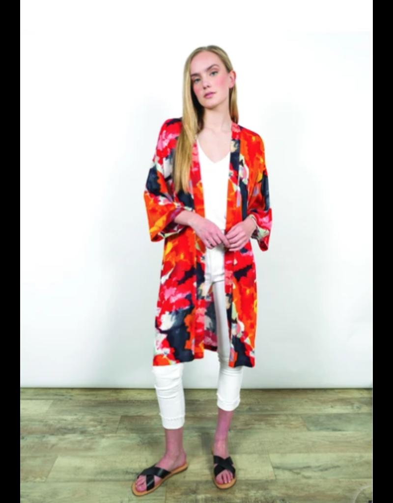 Shannon Passero Adley Kimono Cardigan Multi-colour