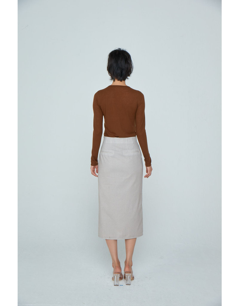 Wnderkammer Skirt Brown