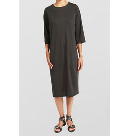 Ayrtight Porto Bridge Midi Dress Black