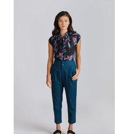 Allison Wonderland St Germain Blouse Tropical Blue