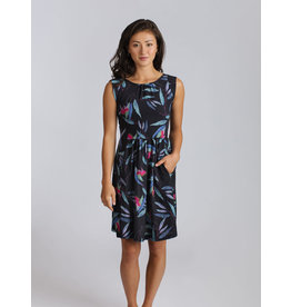 Allison Wonderland Cremieux Dress Tropical Blue