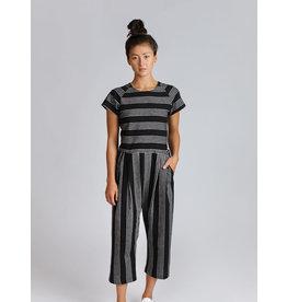 Allison Wonderland Avignon Jumpsuit Black Stripe