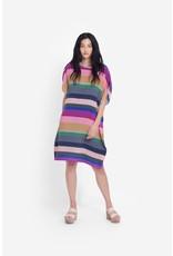 Elk Lysbro Shift Dress Stripe Print