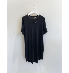 Shannon Passero Linda Vneck Dress Black