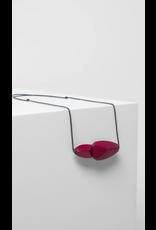 Elk Sunne Necklace Pendant Ruby