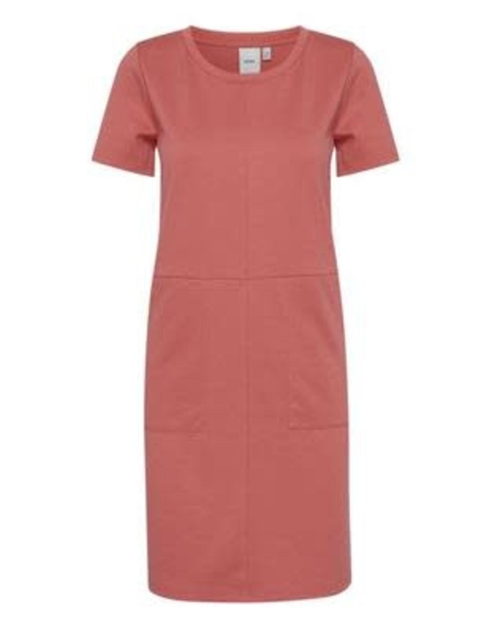 Ichi Kate Dress Rose