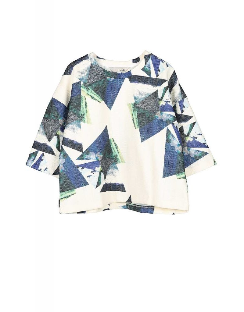 Ti:Baeg Cropped Graphic Shirt
