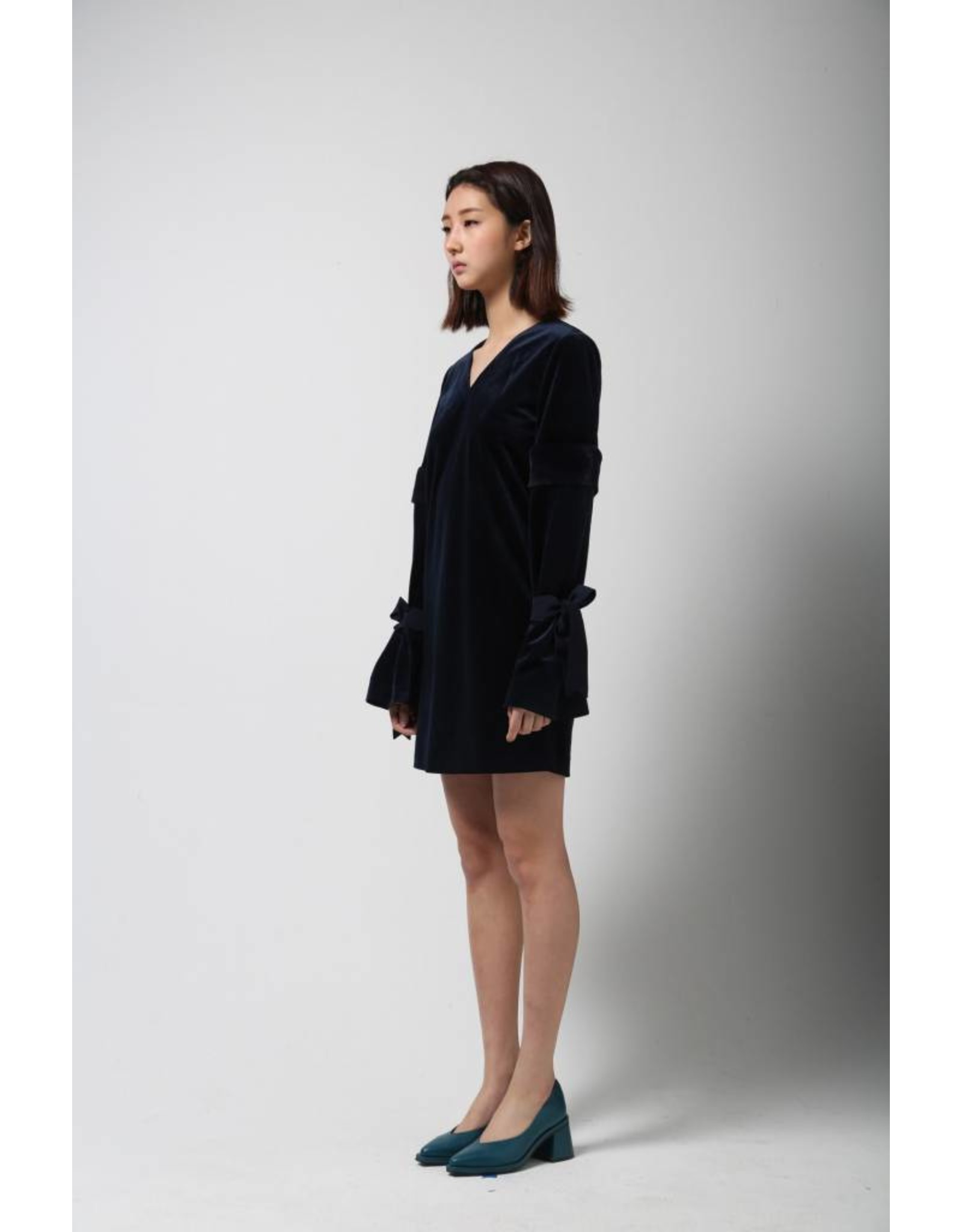 LIE Velvet Shift Dress