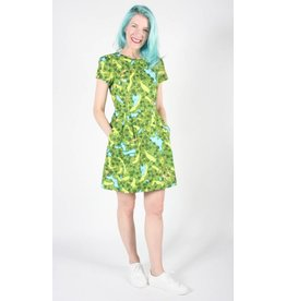 Birds of North America Kittiwake Golf Green Dress