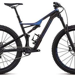 Specialized Vélo Specialized Stumpjumper FSR Comp Carbon 29/6Fattie 2018 Noir/Bleu