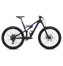 Specialized Vélo Specialized Stumpjumper FSR Comp Carbon 29/6Fattie 2018 Noir/Bleu