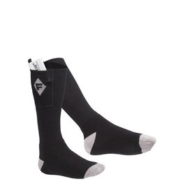 Heated socks Farenheit Zero Manual Black