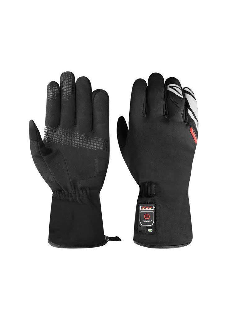 Racer Heated glove Racer E-Gloves 2 Black