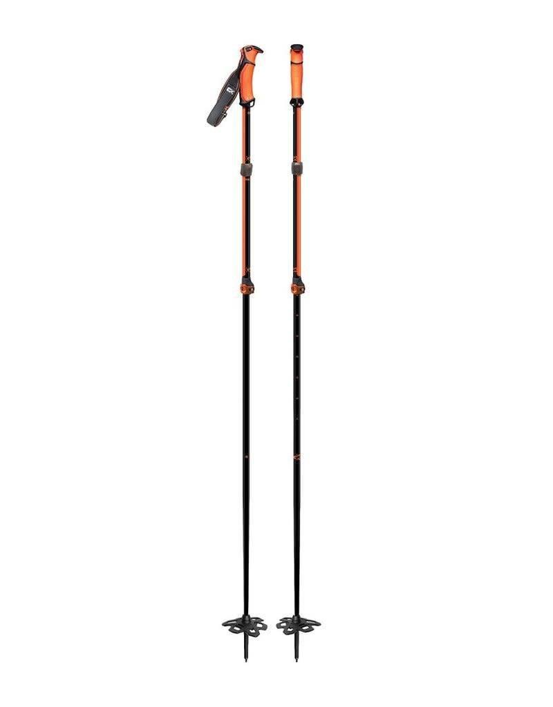 G3 Bâton ajustable G3 Via Alu Long Noir/Orange