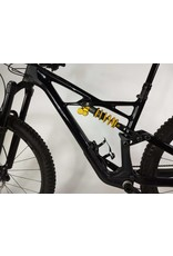 Specialized Vélo Specialized Enduro FSR Coil Ohlins Carbon 29/6FATTIE - Black / Gold Medium DEMO