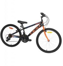 DCO Vélo junior DCO satellite 24po noir mat/orange 2018