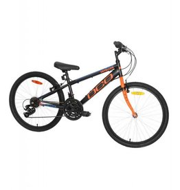 DCO Vélo junior DCO satellite 24po noir mat/orange 2018