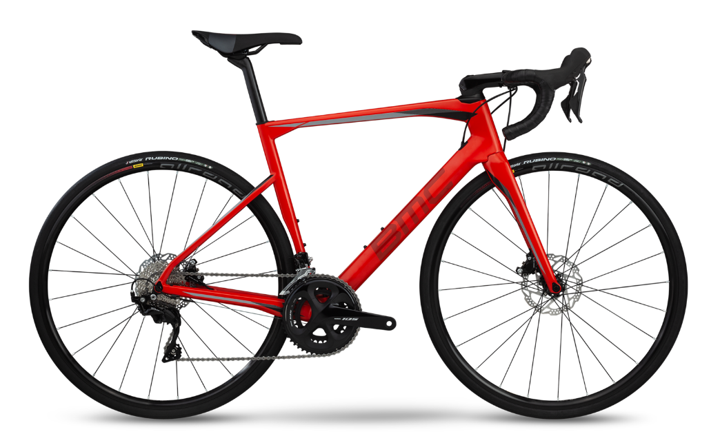 Vélo BMC Roadmachine 02 Three 2019 Rouge
