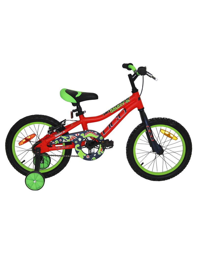 DCO Vélo DCO Galaxy Aluminuim 16'' JR Rouge/Vert 2019