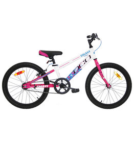 DCO Vélo DCO Galaxy 20'' JR Fille 2019 Blanc/Rose