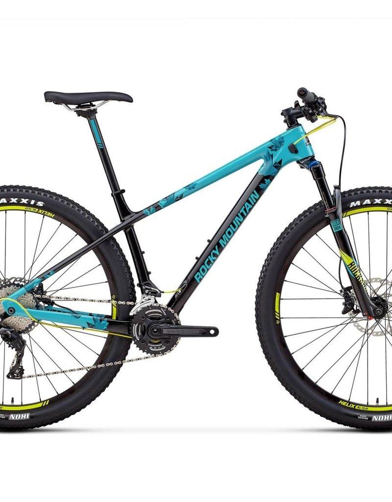 Rocky Mountain Vélo Rocky Mountain Vertex Carbon 50 2018 Bleu/Noir Medium