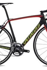 Specialized Vélo Specialized Tarmac Expert Noir Sram Red monté S-Work 58cm 2016