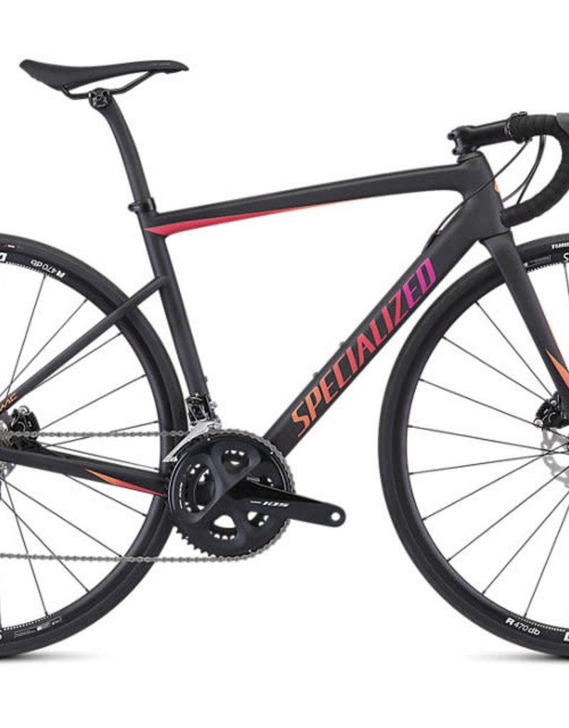 Specialized Vélo Specialized Tarmac SL6 Sport Disc Femme Noir 2019