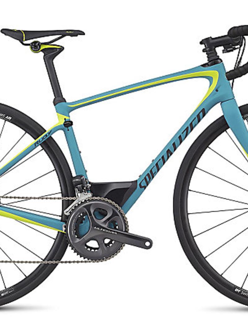 Specialized Vélo Specialized Ruby Comp Bleu/Jaune 48cm 2017 (Cadre Expert)